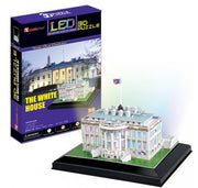 Led 3D Puzzle The White House - Others - Toys101