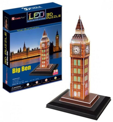Led Big Ben 3 Puzzle - Others - Toys101