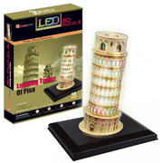 Led 3D Puzzle Leaning Tower Of Pisa - Others - Toys101