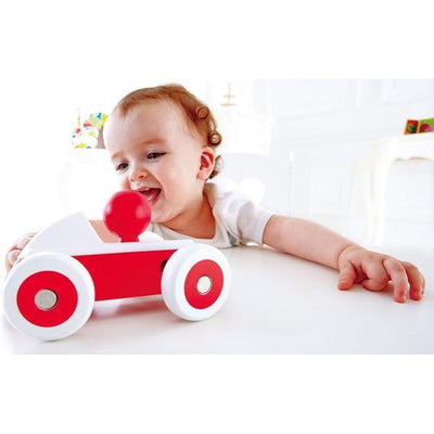 Hape Red Rolling Roadster - Hape - Toys101
