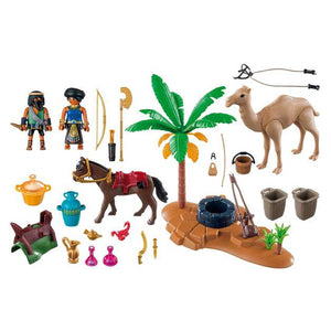 Tomb Raiders Camp - Playmobil - Toys101
