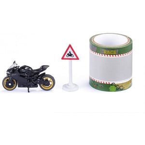 Siku 1601 Ducati Panigale 1299 With 5 Meter Road Tape - Siku - Toys101