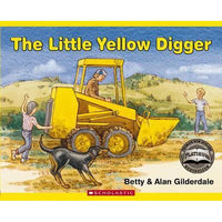 Little Yellow Digger - Scholastic - Toys101