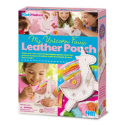 4M Kidz Maker My Own Unicorn Faux Leather Pouch - 4M - Toys101