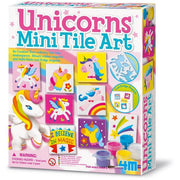 4M Unicorns Magnetic Mini Tile Art - 4M - Toys101