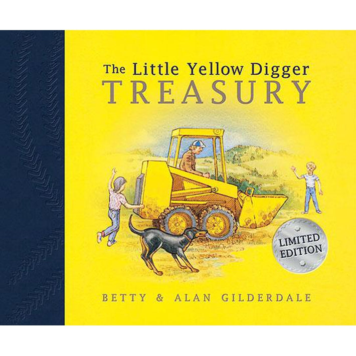 The Little Yellow Digger Treasury - Scholastic - Toys101