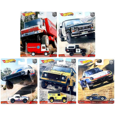 Hot Wheels Car Culture - All Terrain (Complete Set of 5) - Toys101