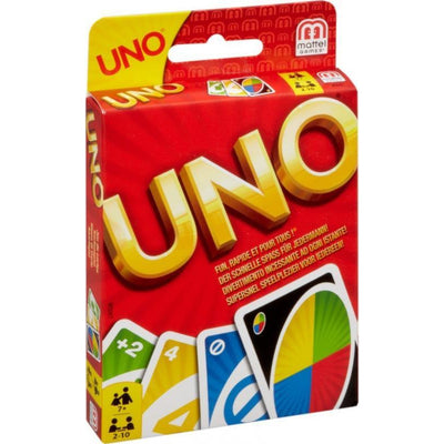 Uno Card Game - Mattel Games - Toys101