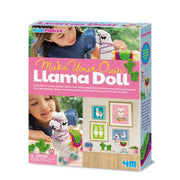 4M Kidz Maker Make Your Own Llama Doll - 4M - Toys101