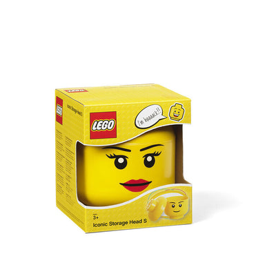 LEGO Storage Head Small Girl - Lego Accessories - Toys101
