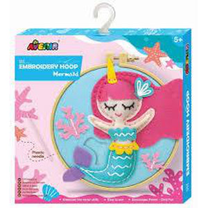 Avenir Embroidery Hoop Mermaid - Avenir - Toys101