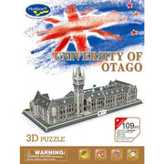Cubic Fun 3D Puzzle University Of Otago - Holdson Games - Toys101