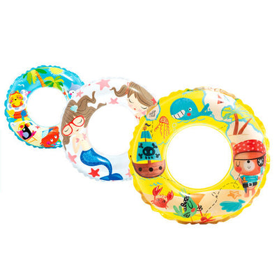 Intex 59242 Transparent Rings Assorted - Intex - Toys101