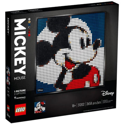 LEGO ART 31202 Disney's Mickey Mouse - Lego Art - Toys101