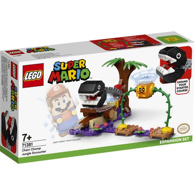 LEGO Super Mario 71381 Chain Chomp Jungle Encounter Expansion Set - Lego Super Mario - Toys101