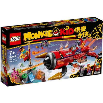 LEGO Monkie Kid 80019 Red Son's Inferno Jet - Toys101