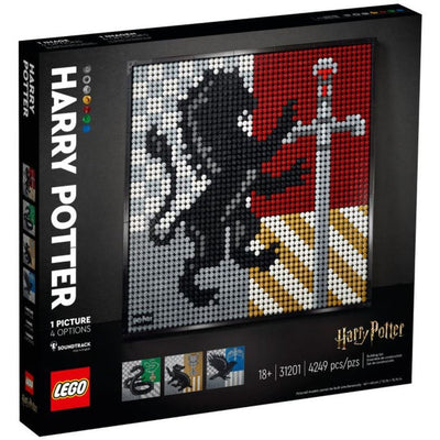 LEGO ART 31201 Harry Potter Hogwarts Crests - Lego Art - Toys101