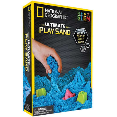 Ultimate Play Sand Blue - National Geographic - Toys101