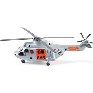 Siku 1;50 Search And Rescue Transport Helicopter With Strecher - Siku - Toys101