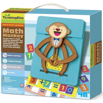 4M Math Monkey Thinking Kit - 4M - Toys101