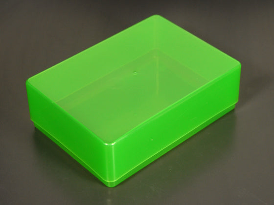 green A6 paper storage boxes