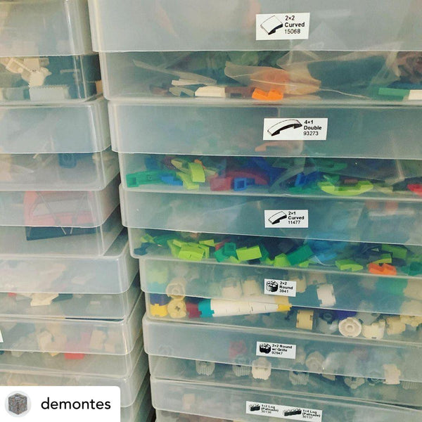 @demontes lego stored in weston boxes a4 storage boxes