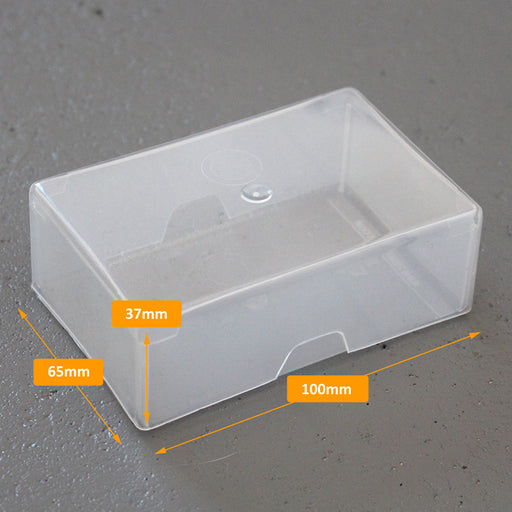 125 Business Card Box 2nds External Dimensions