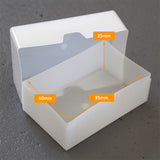 TOUGH 125 Business Card Box Internal Dimensions