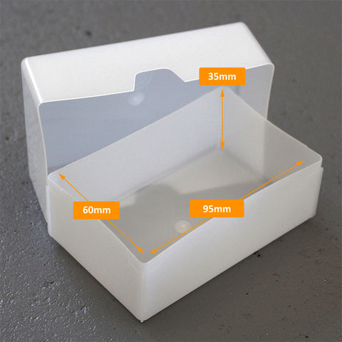 Tough Impact Resistant Business Card Box Westonboxes Plastic