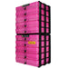 Pink / Transparent, WestonBoxes Craft Storage Box Stak Stack Unit For A4 Paper Storage Boxes