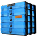 Blue / Transparent, WestonBoxes Craft Storage Box Stak Stack Unit For A4 Paper Storage Boxes