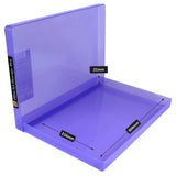 westonboxes coloured plastic slim a4 paper storage boxes