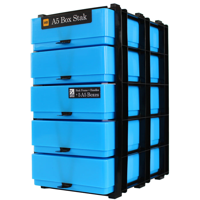 A5 Box Stak Craft Storage Unit, Neon
