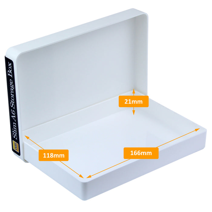 westonboxes plastic a6 slim packing postal mailout box