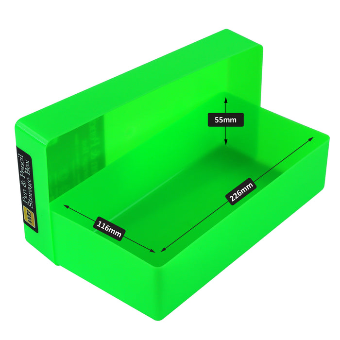 Pen & Pencil Storage Box, Neon