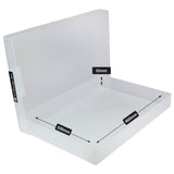 westonboxes sra3 a3 paper storage box clear plastic