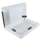 westonboxes slim a5 paper plastic storage box