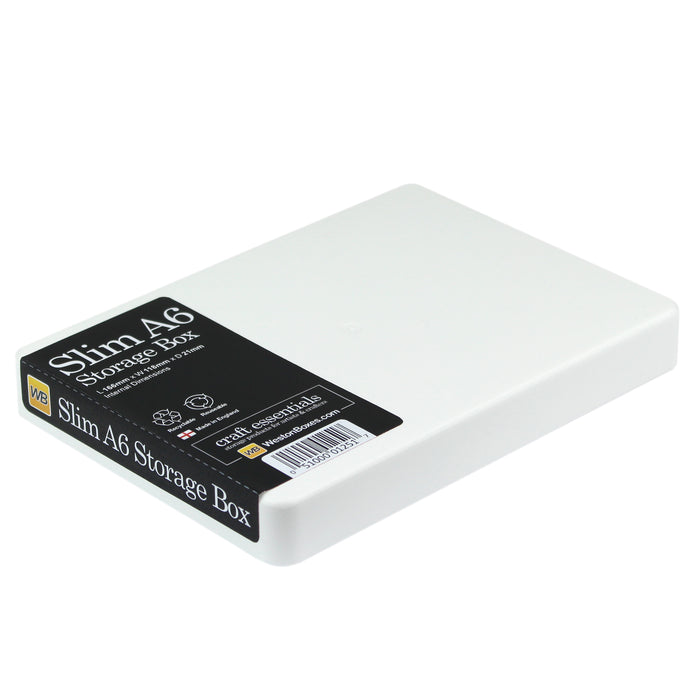 Slim A6 Storage Box