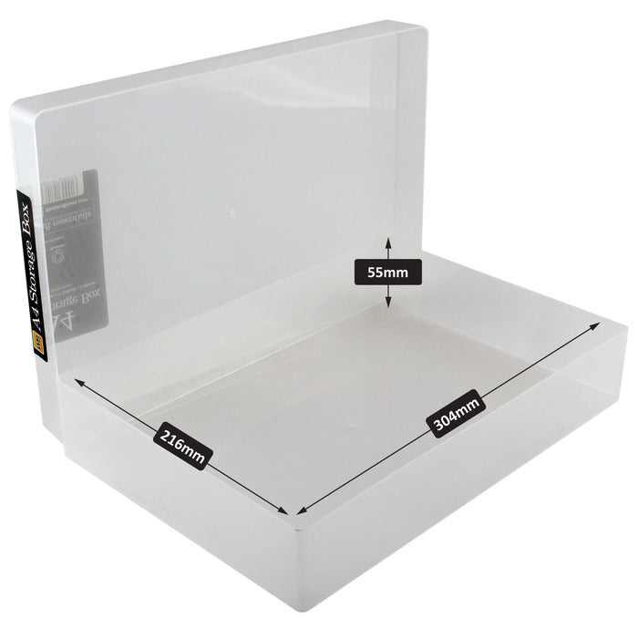 westonboxes a4 paper storage box internal dimensions
