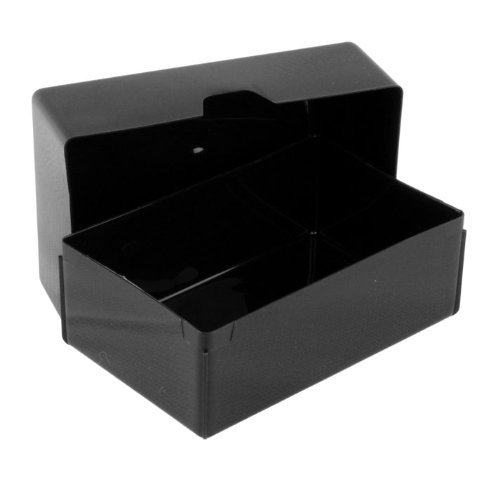 Weston Boxes 35mm Deep Business Card Box, Black