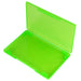 westonboxes green plastic business card wallet