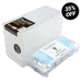 WestonBoxes 50 Disposable Face Masks + 5 Hygienic Transparent Storage Boxes