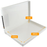 westonboxes a4 slim presentation box tough plastic internal dimensions