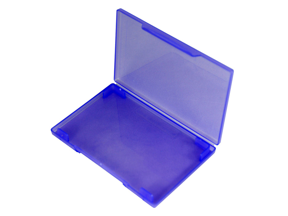 westonboxes purple plastic business card wallet