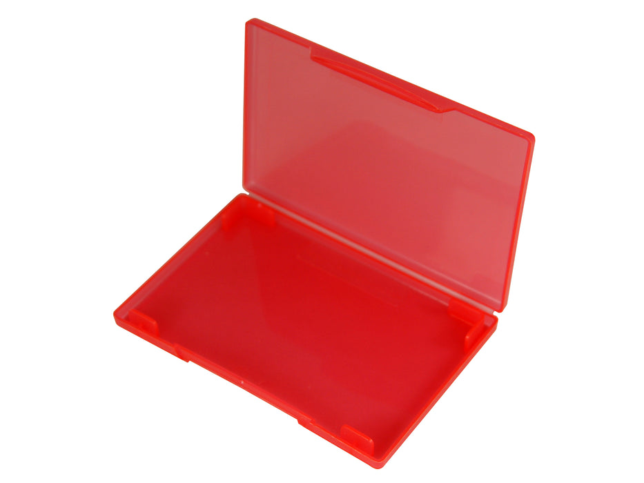 westonboxes red plastic business card wallet