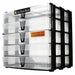 Clear / Transparent, WestonBoxes Craft Storage Box Stak Stack Unit For A4 Paper Storage Boxes