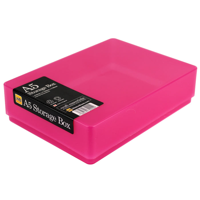A5 Plastic Storage Box