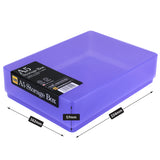 westonboxes purple a5 storage box