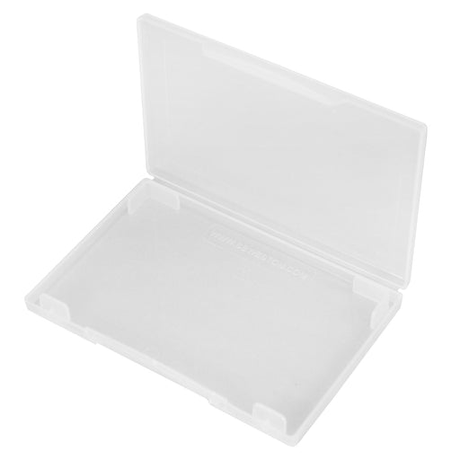 westonboxes clear plastic business card wallet