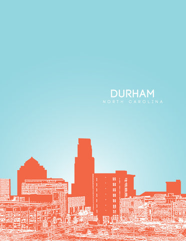 Durham North Carolina Poster